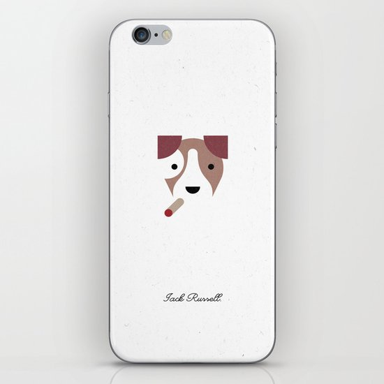 Pedigree: Jack Russell iPhone & iPod Skin