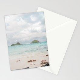 The Mokes at Lanikai Beach Stationery Cards