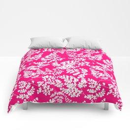 Spring Pink Comforters