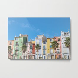 Villajoyosa , the Joyful town Metal Print