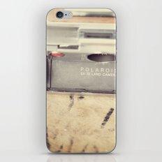 VIntage Polaroid SX-70 iPhone & iPod Skin