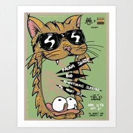 Blind Blind Tiger Art Print