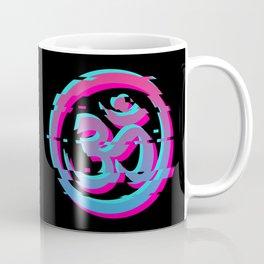 Om Yoga Ohm - Vaporwave Aesthetic Art Gifts Coffee Mug