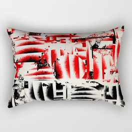 Labyrinth Rectangular Pillow