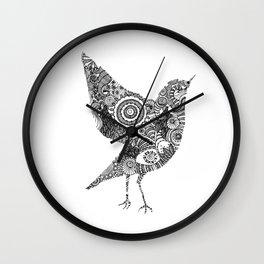The bird Wall Clock
