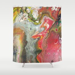 Fluid - Le Jardin Shower Curtain
