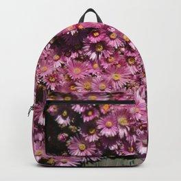 Little Pink Flowers Velvia  Backpack