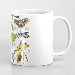 Moths of the World Coffee Mug