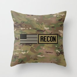Recon (Camo) Throw Pillow