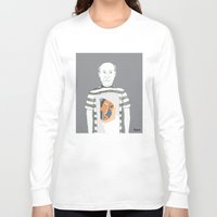 pablo picasso Long Sleeve T-shirts featuring Pablo Picasso portrait by Irene LoaL