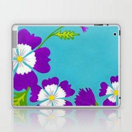 Summer Folk Flowers Laptop & iPad Skin