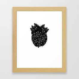 Uh-oh, Zach's got the dog biscuit again. -.- Framed Art Print