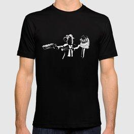 Phan Fiction Gritty Phillie Phanatic Pulp Fiction T-shirt