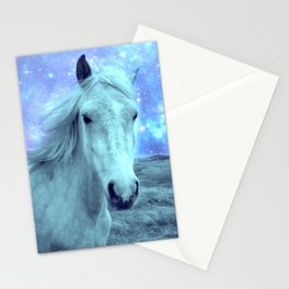 Blue Horse Celestial Dreams Stationery Cards
