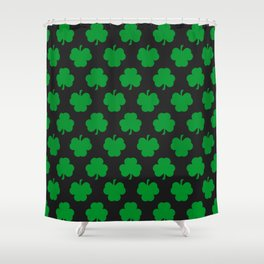 Shamrocks Shower Curtain