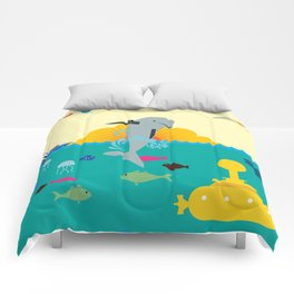 Stop use dolphins as weapons! Comforters