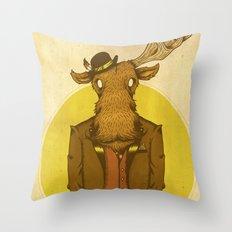 {Bosque Animal} Alce Throw Pillow