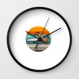Get Nailed By A Pro Sleep With A Carpenter - Carpentry Wall Clock