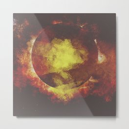 The baby moon Metal Print