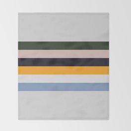Paint Stripes Throw Blanket