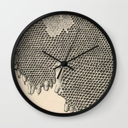 Honeycomb Frame Wall Clock