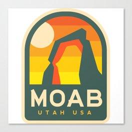 Moab Utah Patch Canvas Print