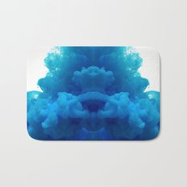 blue cloud Bath Mat