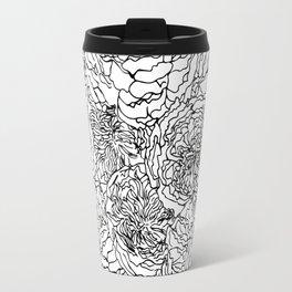 SPRING IN BLACK AND WHITE Travel Mug
