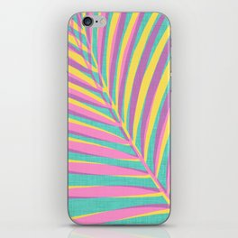 Bright Tropical Palm iPhone Skin