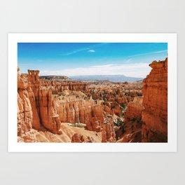 Bryce Canyon, Utah Art Print