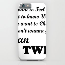 Stan Twice iPhone Case