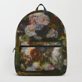 "Edgar Degas ""A Woman Seated beside a Vase of Flowers (Madame Paul Valpinçon?)"" Backpack"