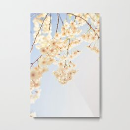 Cascading Blooms Metal Print