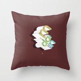 Mandamientos Throw Pillow