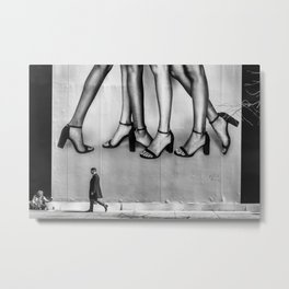 Without A Leg To Stand On Metal Print