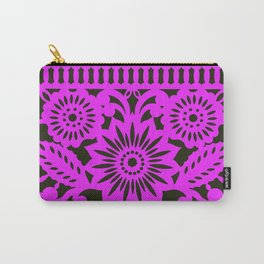 Papel Picdo - Pink + Black Carry-All Pouch