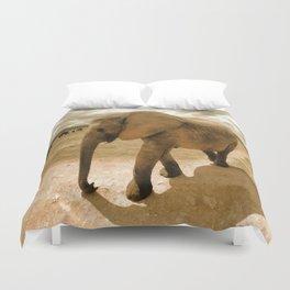 Wildlife big Elephant Duvet Cover