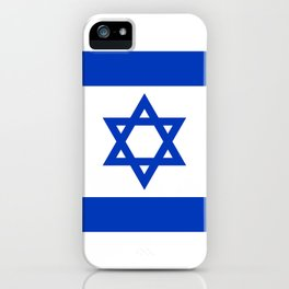 Flag of the State of Israel iPhone Case