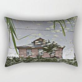 Suzdal, Russia. House Reflection Rectangular Pillow