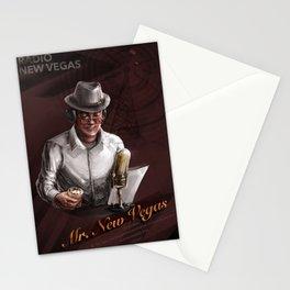 Mr. New Vegas (Fallout: New Vegas Fanart) Stationery Cards