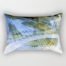 Abstract ink in spring Rectangular Pillow