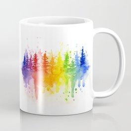 Rainbow Forest Coffee Mug