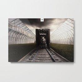The terminal Metal Print