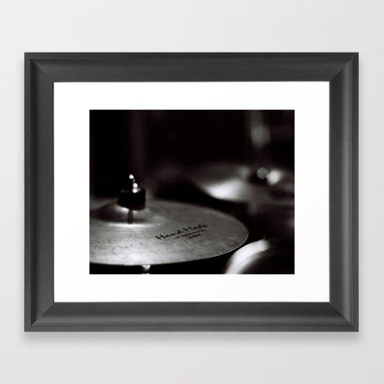 Cymbal Framed Art Print