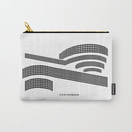 Frank - A is for Architecture Carry-All Pouch