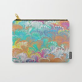 Thistle Water Marbling Carry-All Pouch