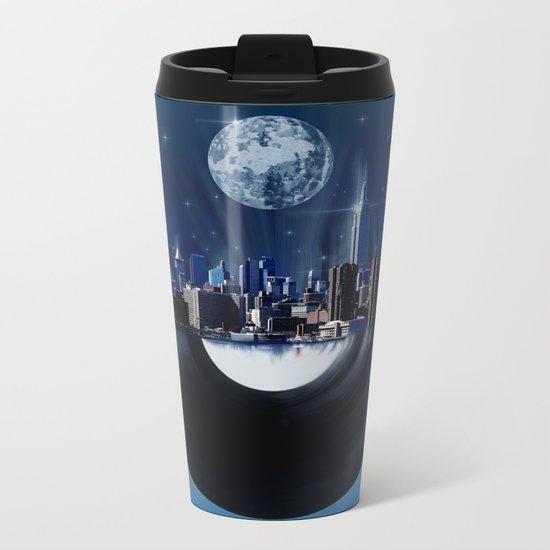 new york city music 1 Metal Travel Mug