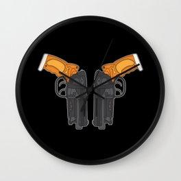 PK5 Blasters Wall Clock