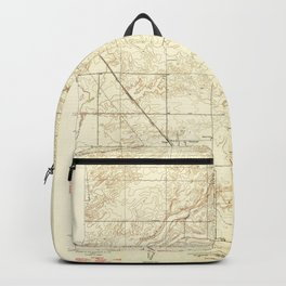 Gregg, CA from 1947 Vintage Map - High Quality Backpack