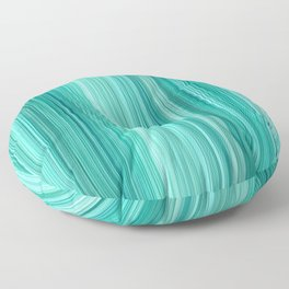 Ambient 5 in Teal Floor Pillow